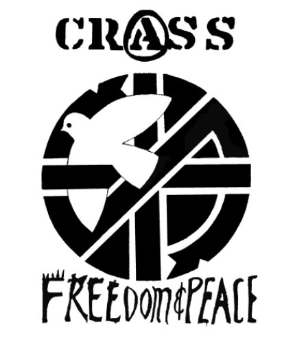 CRASS - Freedom - Back Patch
